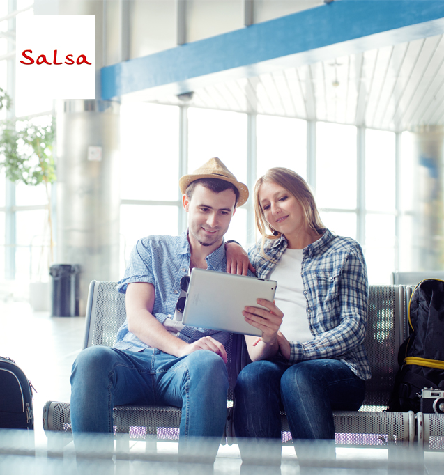 Compre os seus jeans favoritos na loja online da Salsa e tenha um desconto imediato ao pagar com MB WAY