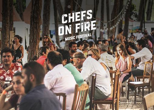 O Chefs On Fire 2019 junta o melhor da música e da cozinha de autor!