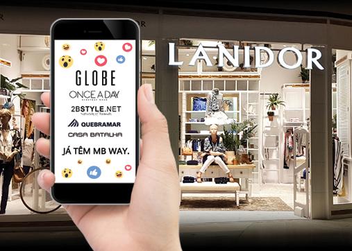 Grupo Lanidor integra 5 marcas no MB WAY!
