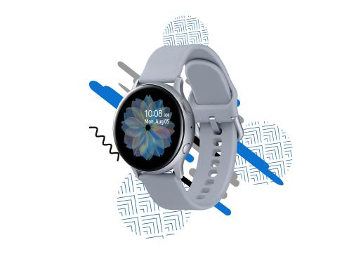 Acabe o ano a tempo e horas com um Smartwatch Samsung Galaxy Active 2!