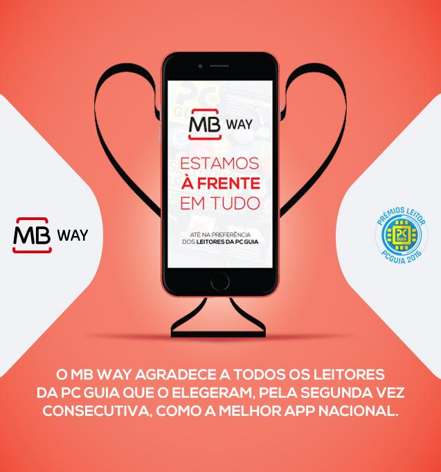 MB WAY a melhor app nacional? Os leitores da PC Guia confirmam