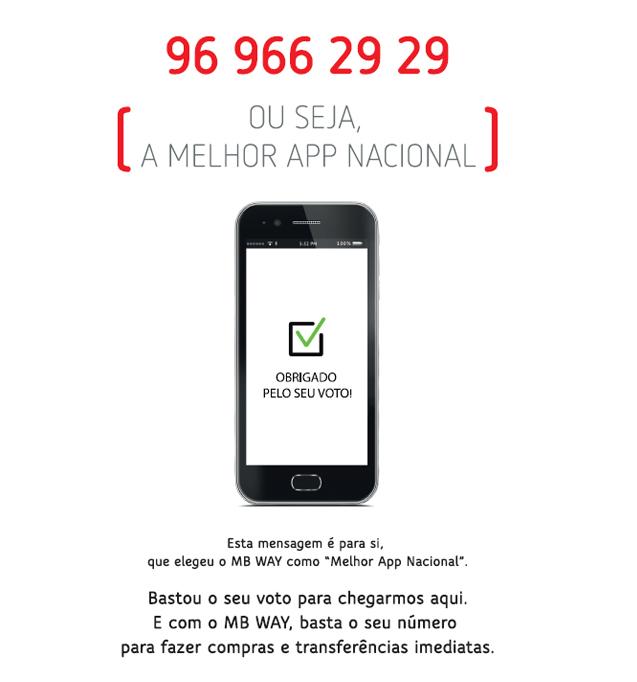 MB WAY eleito a melhor App do mercado nacional