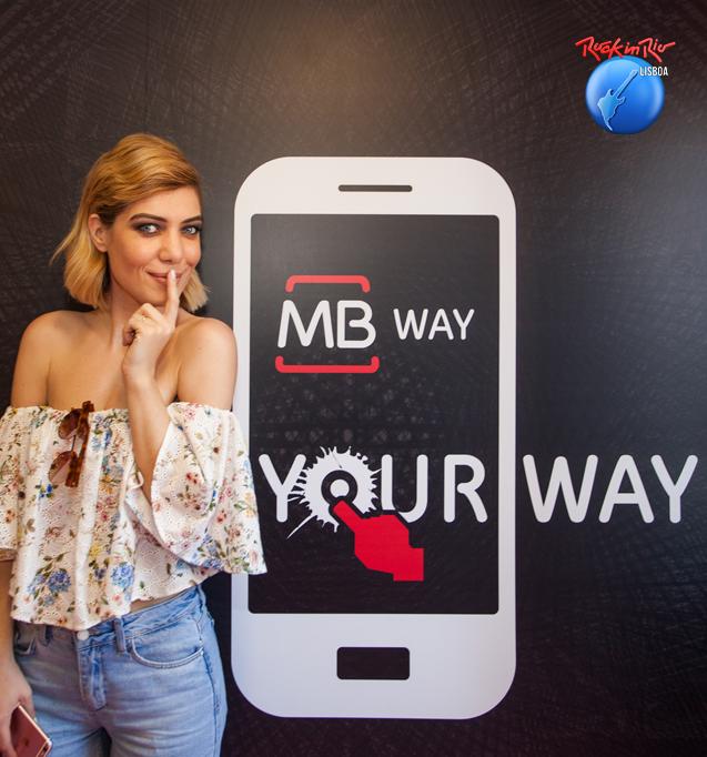 O Rock in Rio-Lisboa já começou. Não se esqueça de aderir ao MB WAY para comprar com o telemóvel.