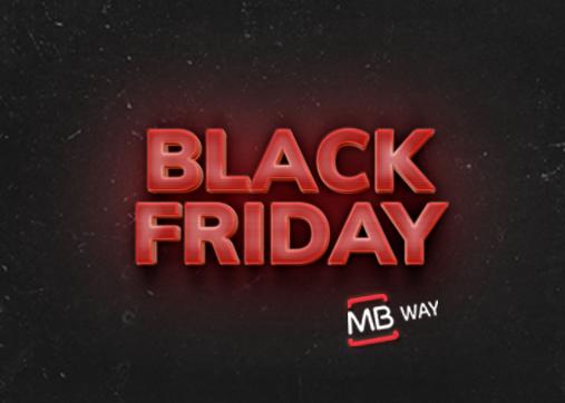 Black Friday: descontos extra com MB WAY.
