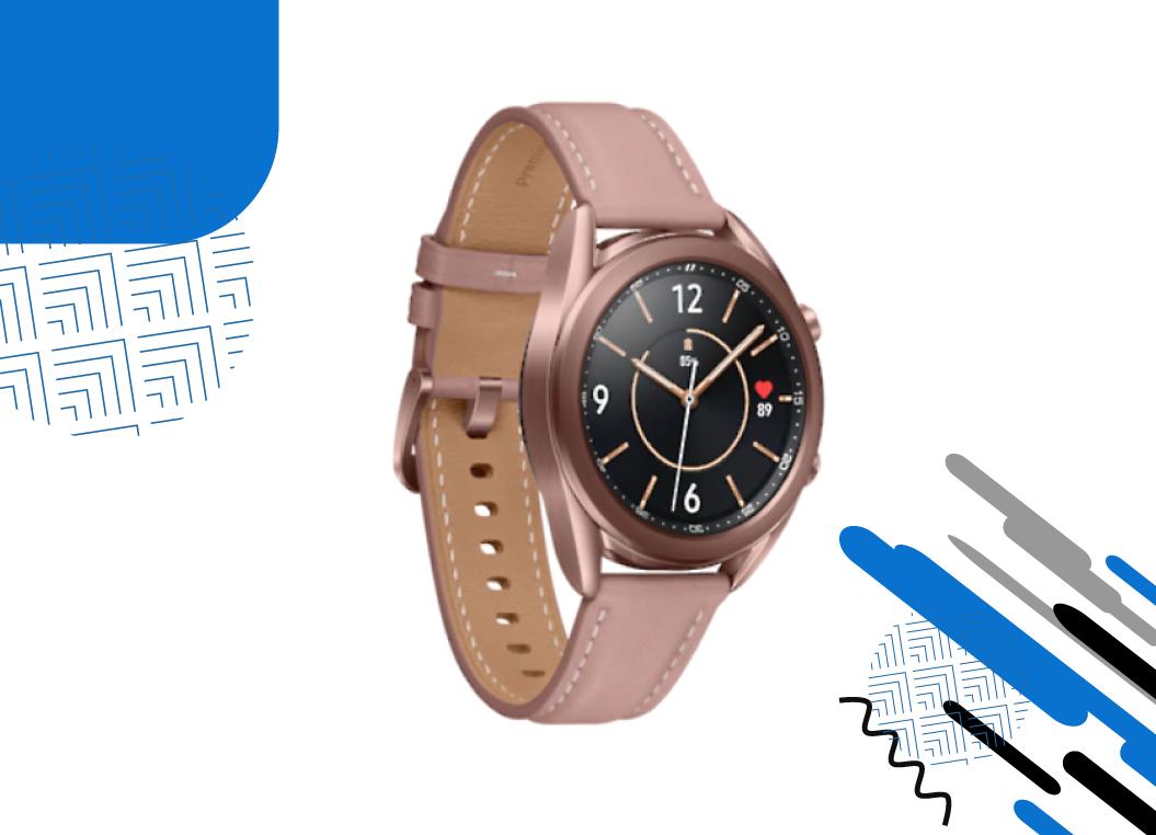 Está na hora de ganhar um Galaxy Watch3!