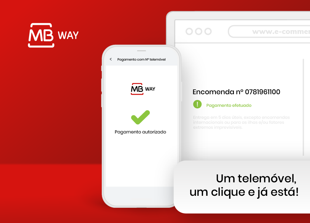 Compras online com MB WAY: Um telefone, um clique e já está!